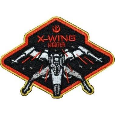 Star Wars X-Wing Fighter Embroidered Patch