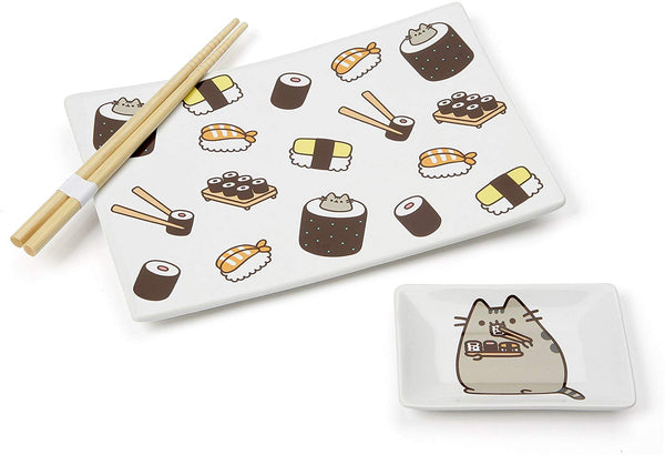 Pusheen Sushi Set w chopsticks