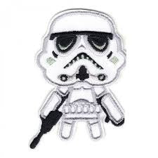 Loungefly Star Wars Patch - Chibi Stormtrooper