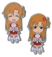 Sword Art Online Pin Set - Happy and Angry Asuna