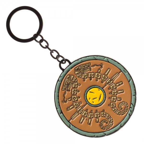 The Legend of Zelda Breath of the Wild Shield Metal Keychain