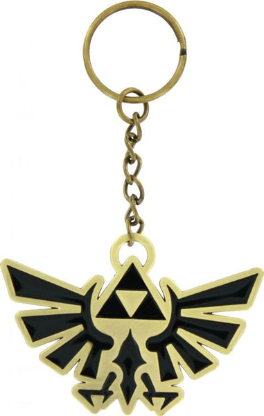 The Legend of Zelda Keychain - Metal Triforce Emblem