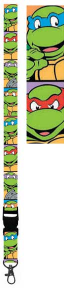 Teenage Mutant Ninja Turtles Lanyard - TMNT Faces