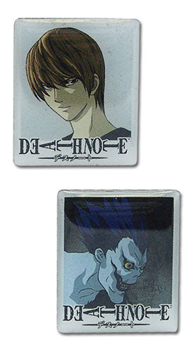 Death Note Pin Set - Light and Ryuk