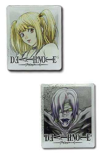 Death Note Pin Set - Misa and Rem