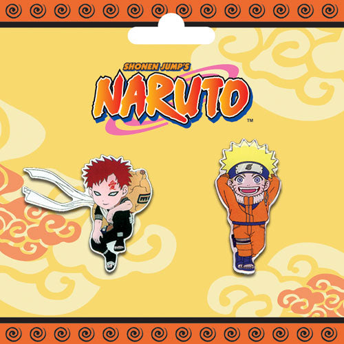 Naruto Pin Set - Naruto and Gaara