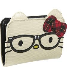 Hello Kitty Nerd Face Mini Wallet