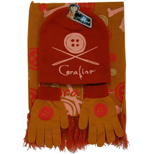 Coraline Hat Glove and Scarf Set