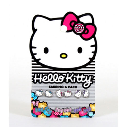 HELLO KITTY CANDY EARRING PACK