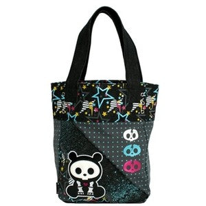 Skelanimals Bear Tote Bag