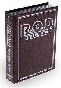 R.O.D The TV Volume 1 DVD with Collectors Book