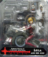 Vampire Hunter D: Bloodlust Leila Figure with Bike