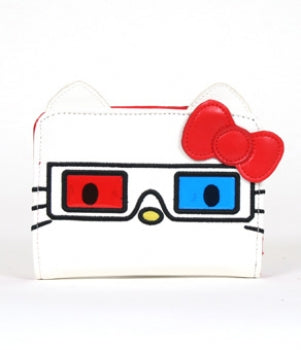 Hello Kitty 3D Glasses Coin Bag