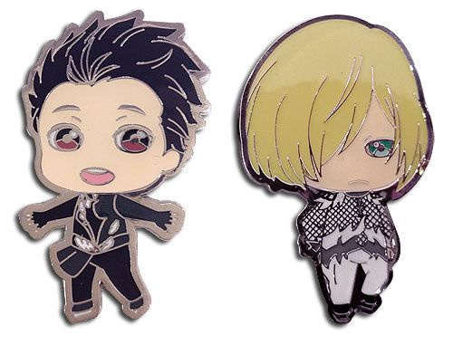 YURI ON ICE!!! - YURI & YURIO PINS