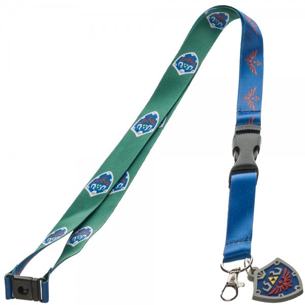 Zelda Skyward Sword Shield and Crest Lanyard