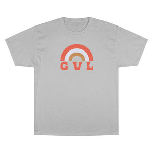 GVL Rainbow Champion Tee - GVL Hustle