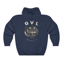 Load image into Gallery viewer, GVL Hustle Tiger Heavy Blend™ Hooded Sweatshirt - GVL Hustle