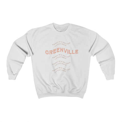 Happy Heavy Blend™ Crewneck Sweatshirt - GVL Hustle