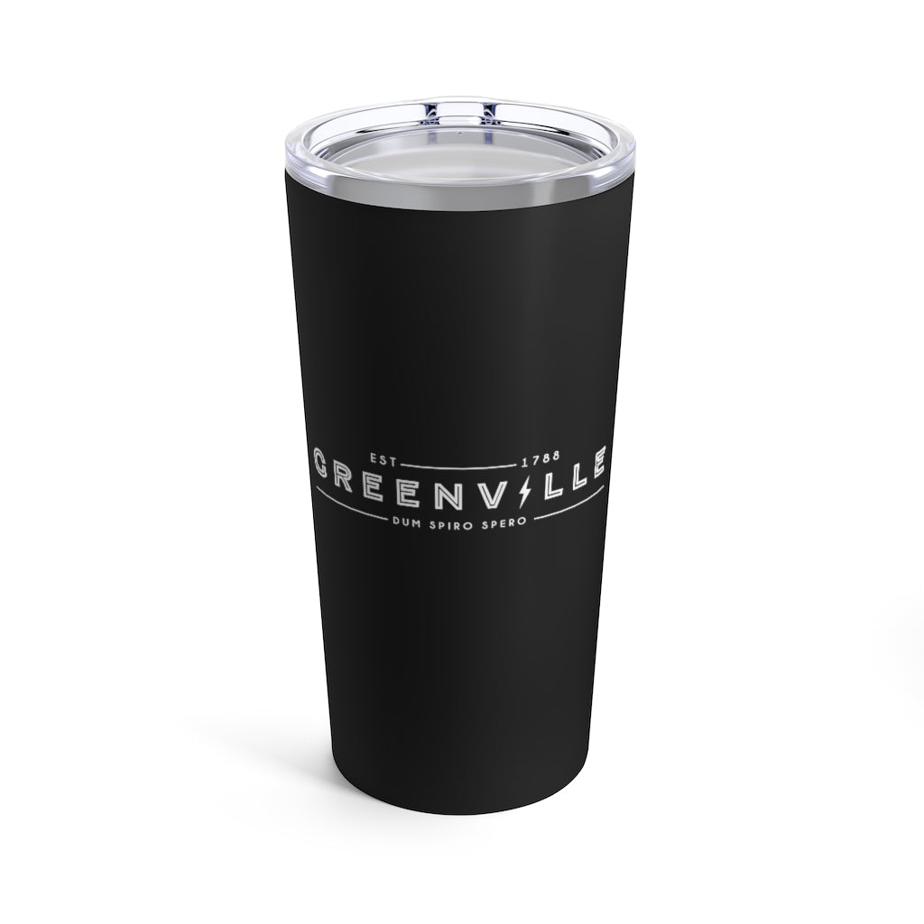 Greenville Lightning Tumbler 20oz - GVL Hustle