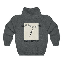 Load image into Gallery viewer, Lightning GVL Hustle Heavy Blend™ Hooded Sweatshirt - GVL Hustle
