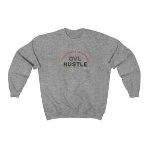 Good Things Heavy Blend™ Crewneck Sweatshirt - GVL Hustle