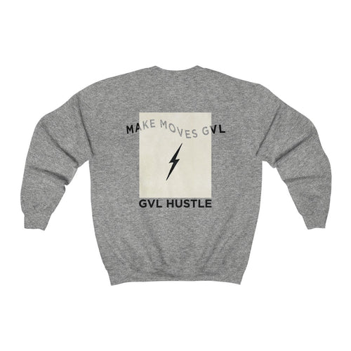 GVL Hustle Lighnting Heavy Blend™ Crewneck Sweatshirt - GVL Hustle
