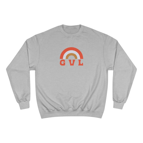 GVL Rainbow Champion Sweatshirt - GVL Hustle