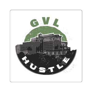 Special Edition GVL Hustle Square Stickers - Spring 2020 - GVL Hustle