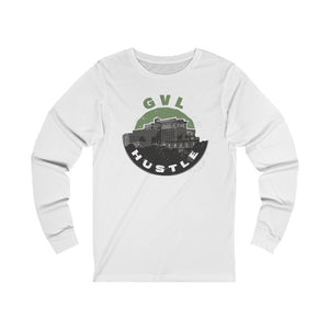 GVL Hustle Skyline Jersey Long Sleeve Tee - GVL Hustle