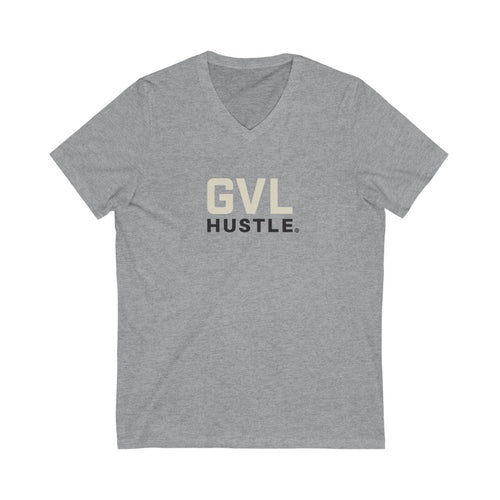 Original GVL Hustle Jersey Short Sleeve V-Neck Tee - GVL Hustle