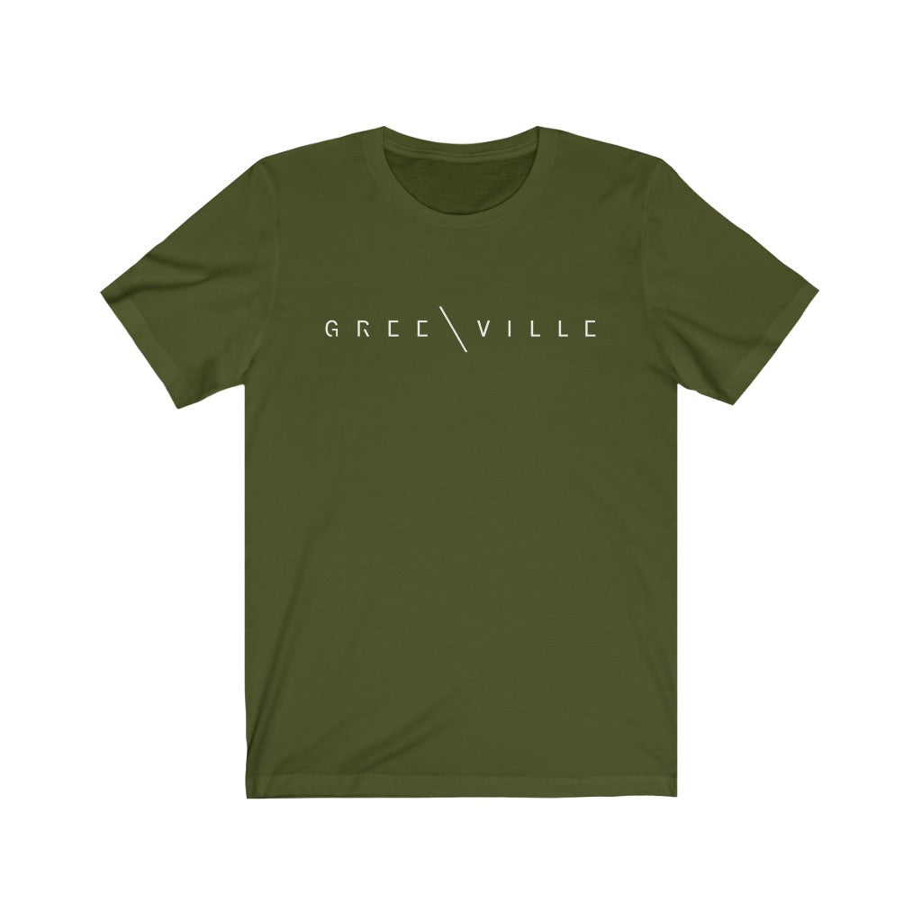 Greenville Jersey Short Sleeve Tee - GVL Hustle