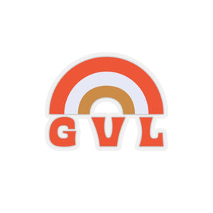 GVL Rainbow Sticker - GVL Hustle