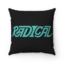 Load image into Gallery viewer, Radical Spun Polyester Square Pillow - GVL Hustle