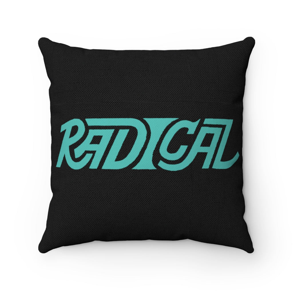 Radical Spun Polyester Square Pillow - GVL Hustle