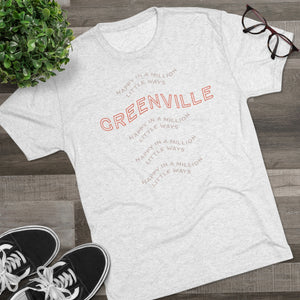 Happy Tri-Blend Crew Tee - GVL Hustle