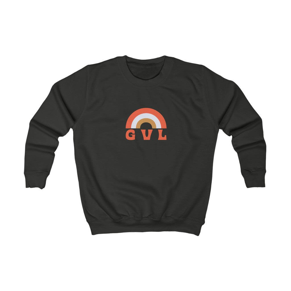 Kids GVL Rainbow Sweatshirt - GVL Hustle