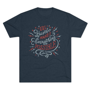 GVL Hustle Possible Men's Tri-Blend Crew Tee - Spring 2020 - GVL Hustle