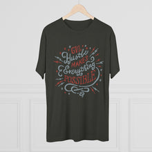 Load image into Gallery viewer, Possibilities Tri-Blend Crew Tee - GVL Hustle