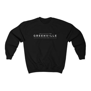 Greenville Lightning Crewneck Sweatshirt - GVL Hustle