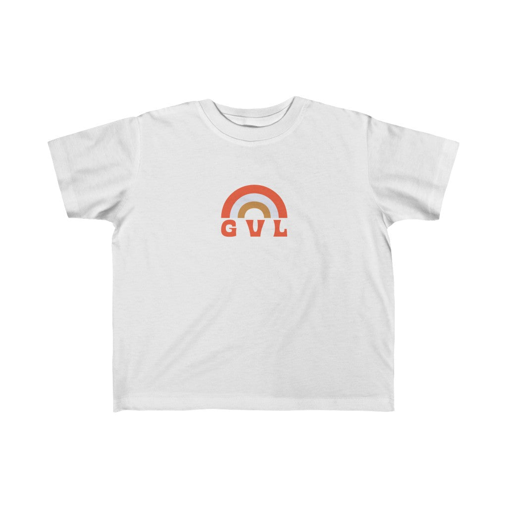 Kid's GVL Rainbow Tee - GVL Hustle