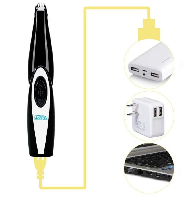 Low Noise Electric Pet Grooming Trimmer - petshoppee.com