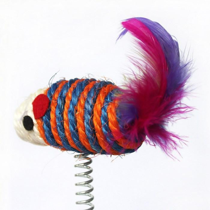 Colorful Cat Charmer Toy - petshoppee.com