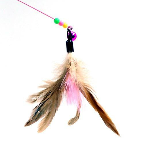 Feather Cat Charmer Toy - petshoppee.com