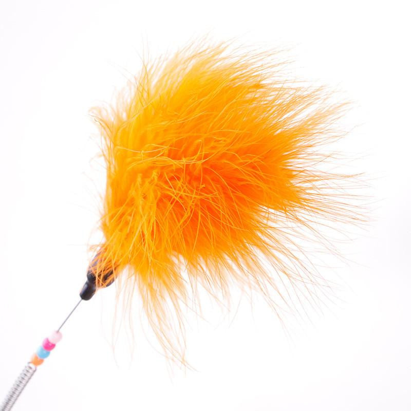 Colorful Feather Cat Toy