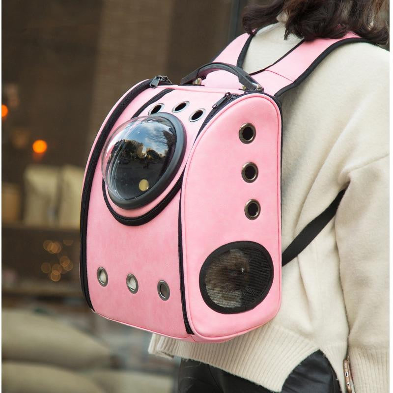 Capsule Pet Carrying Breathable Backpack Outdoor Travel