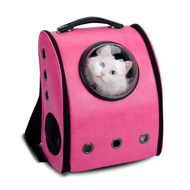 Capsule Pet Carrying Breathable Backpack Outdoor Travel - petshoppee.com