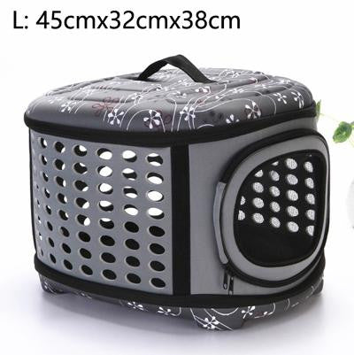 Foldable and Portable Pet Carrying Travel Bag - petshoppee.com