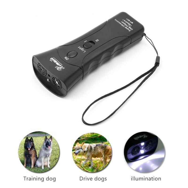 Ultrasonic Dog Chaser And Training Device - petshoppee.com