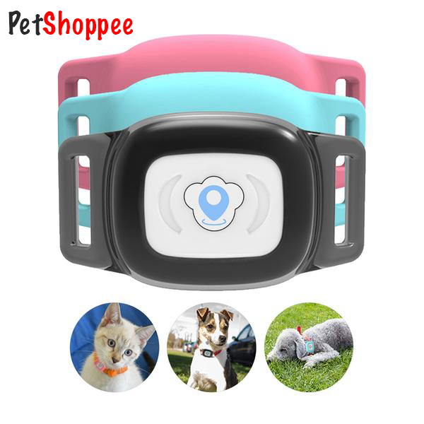 Smart Waterproof GPS Pet Tracker Collar