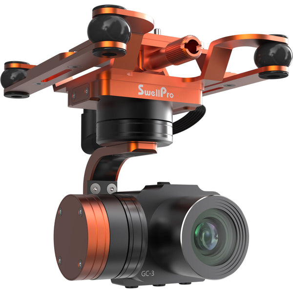 GC-3 Waterproof 4K camera and 3-axis gimbal